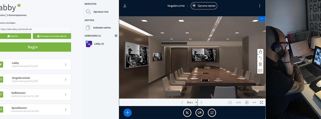 Innovatie voor online vergaderen en lesgeven
