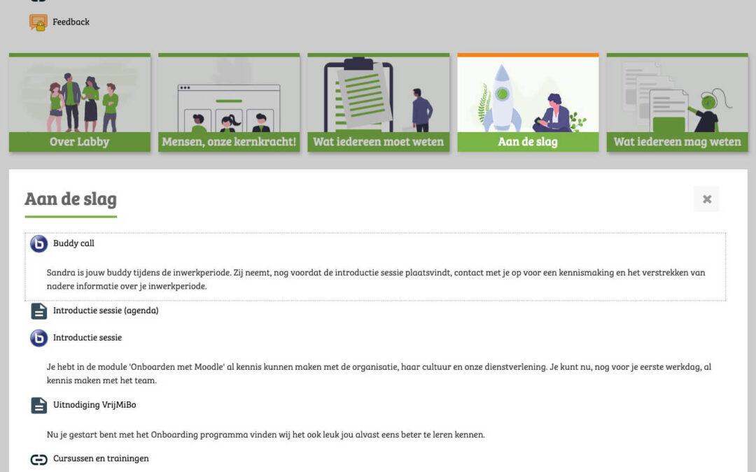 Gebruik je leeromgeving voor inwerken personeel